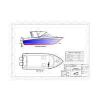 Speed Boat Kapal Mancing (Fishing Boat) Seri FBI.0620.SF