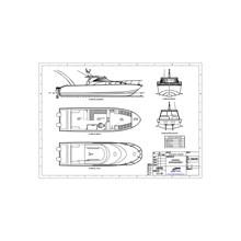 Speed Boat Kapal Mancing (Fishing Boat) Seri FBI.1030.SF