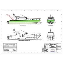 Kapal Mancing (Fishing Boat) Seri FBI.1535.SF