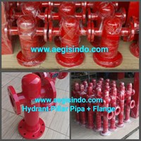 Pillar Hydrant Pipe Sch With Flange