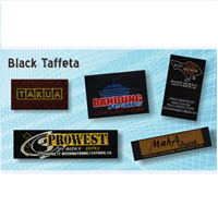 Jual Label Black Taffeta