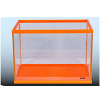 Jual Akuarium Kaca Fancy Series Orange 2