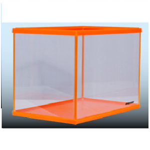 Akuarium Kaca Fancy Series Orange