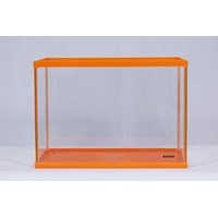 Jual Akuarium Kaca BAHARI Fancy Orange