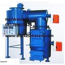 Gudang incinerator double burner kapasitas 5 kg per jam