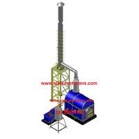 daouble burner incinerator kapasitas 20 kg per jam