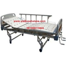 pabrikasi tempat tidur pasien 3 engkol ABS