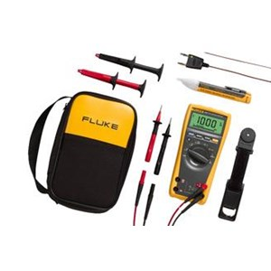 Fluke 179 1Ac2 Rugged Multimeter And Non-Contact Voltage Detector Combo Kit