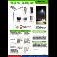 Paket Pju Tenaga Surya Multi Led 80W - Lampu Solar 1