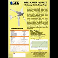 Wind Power 700Watt Horizontal