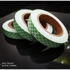 Tape Adhesive : Dobel Tape Hijau Batik