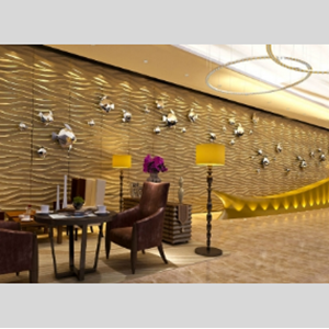 Albert Panel Wallpaper Dinding 3D