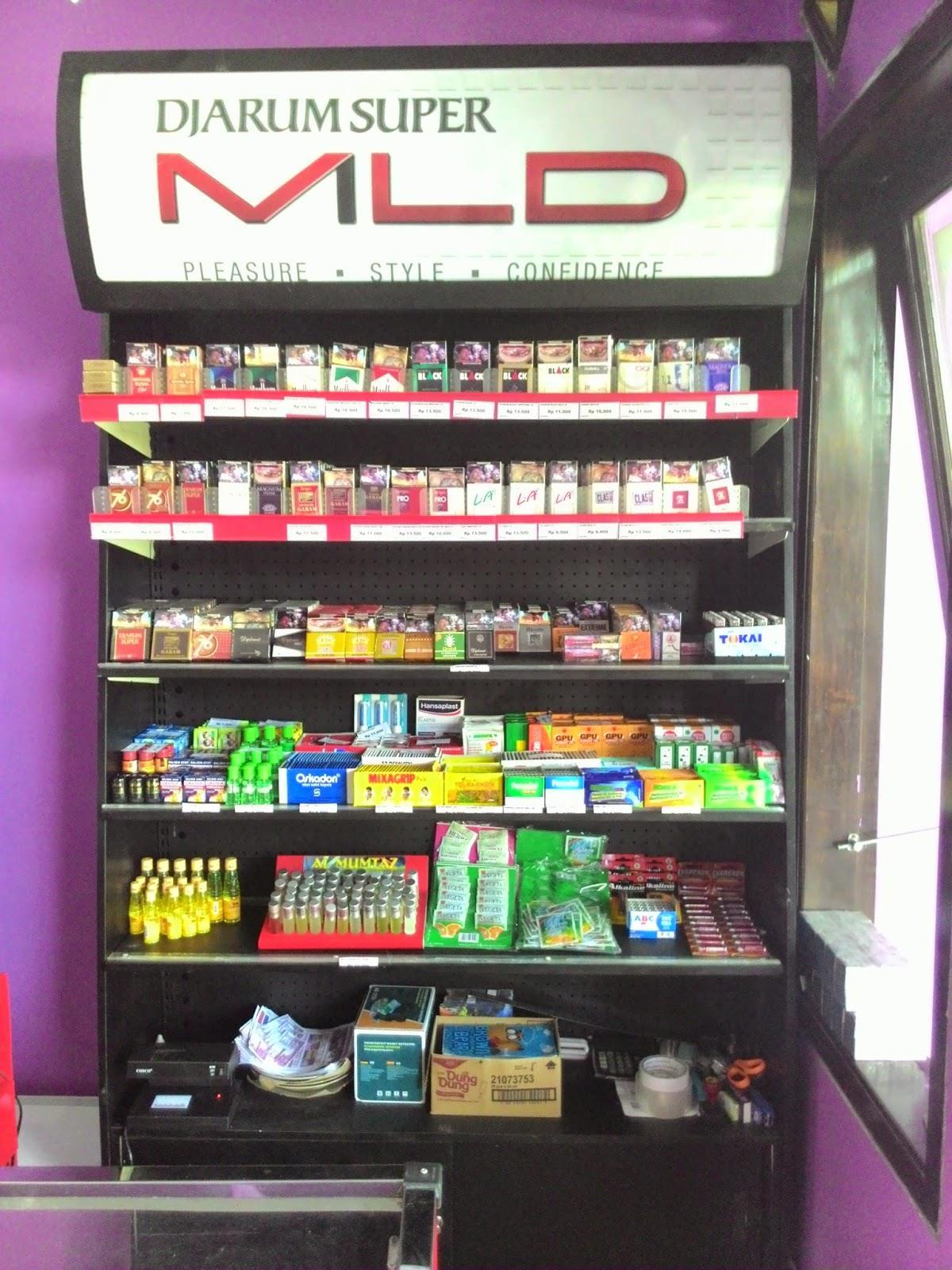 Jual Rak Rokok Supermarket Harga Murah Gresik Oleh Sintech