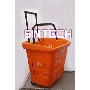 Plastic Basket Pull The Orange