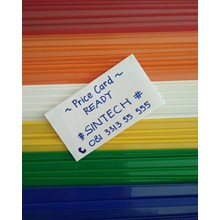 Price Card Aksesoris Perabot Supermarket