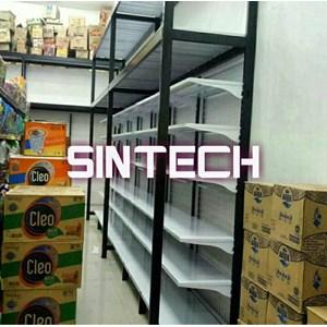 Rak Supermarket Hypermart tipe gudang