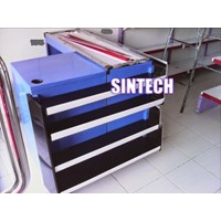 Meja kasir shelving dan price card 1