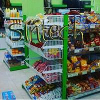 Jual Rak Supermarket Basket Gondola