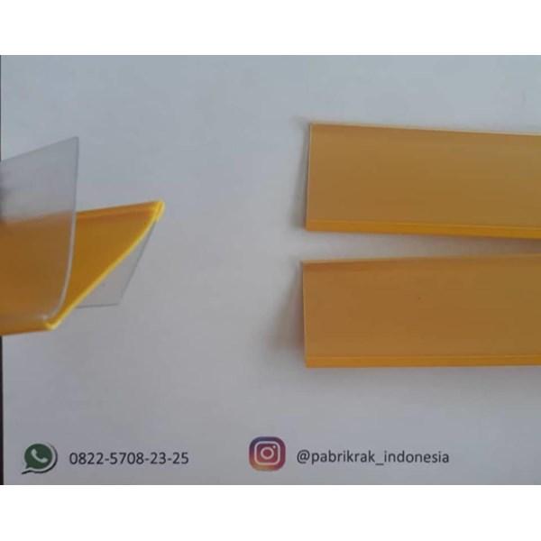 Plastik Mika Label Harga