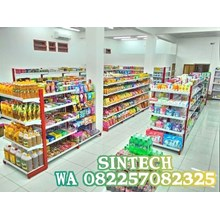 Rak Supermarket / Rak Minimarket Modern NS3