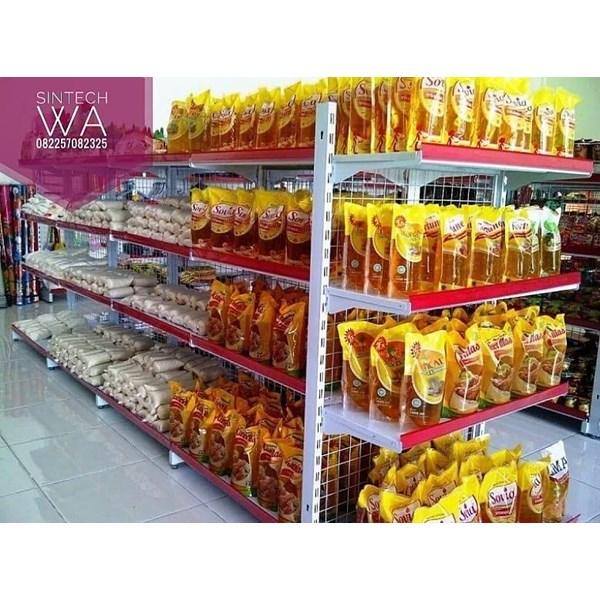 Rak Supermarket / Rak Minimarket Bandung A123