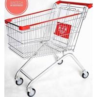 Supermarket / minimarket shopping trolley