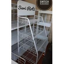 Rak Minimarket untuk Sari Roti