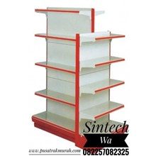 Gondola full backpanel shelf