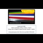 Plastik Mika Price Card Jakarta K68 1