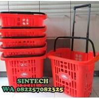 Keranjang Plastik Tarik Shinpo H56