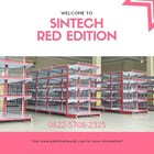 Rak Minimarket / Rak Supermarket Edisi MERAH 1