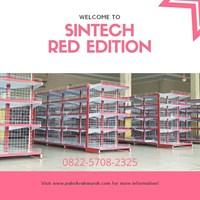 Rak Minimarket / Rak Supermarket Edisi MERAH