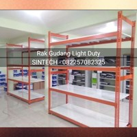 Pemasangan Rak Gudang Light Duty