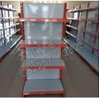 Rak Minimarket / Rak Supermarket Backpanel Harga Terjangkau Kualitas Mewah 1