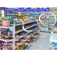 Rak Minimarket / Rak Supermarket Jangan Salah Pilih
