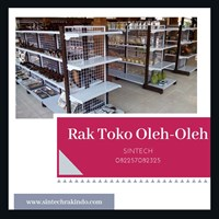 Rak Minimarket / Rak Supermarket untuk toko oleh-oleh