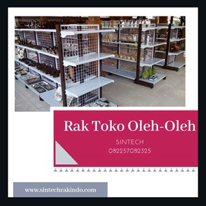 Dari Rak Minimarket / Rak Supermarket untuk toko oleh-oleh 0