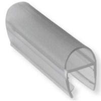 Jual Glass Clip Seal Polycarbonate ( Clip List D Y F H ) Lis Penutup Celah Pintu Kaca Kamar Mandi atau Shower