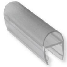 Glass Clip Seal Polycarbonate ( Clip List D Y F H ) Lis Penutup Celah Pintu Kaca Kamar Mandi atau Shower