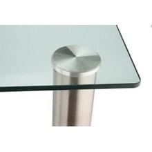 Tatakan Laser Meja Bahan Stainless / Aluminium ( Glass table Cover ) Aksesoris Perabot Tatakan Meja Kaca