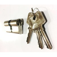 Jual Cylinder Lock Dorma DC PC-91B DL 62 MM Kunci Silinder DL 2 Kunci Dorma 2