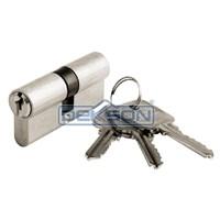 Distributor Aluminium Lockcase Set [ Lever Handle + Mortise + Cylinder Lock ] DEKKSON Kunci Set Pintu Aluminium Dekson 3