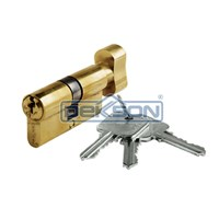 Cylinder Door Lock Dekkson TC DL 70 MM Kunci Pintu Silinder Thumbturn Putar Dekson 70Mm 1