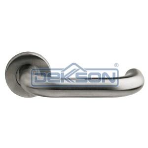 Handel Pintu Stainless Dekson Door Lever Handle Pintu Stainless Steel Round 0016 19 Mm Dekkson