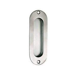 Oval Flush Pull Plate Dekson Oval Pintu Flush Handle Handel Pintu Stainless Tanam PP 012 Dekkson