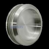 Handle Pintu Kaca Stainless Dekson Bulat Stainless Round Glass Sliding Flush Handle Dekkson Handel Pintu Kaca 1