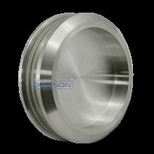 Handle Pintu Kaca Stainless Dekson Bulat Stainless Round Glass Sliding Flush Handle Dekkson Handel Pintu Kaca