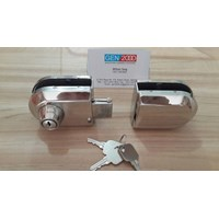Kunci Grendel Pintu Kaca Double Glass Door Lock 1