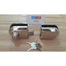 Kunci Grendel Pintu Kaca Double Glass Door Lock