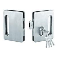 Kunci Sliding Pintu Kaca Double Glass Sliding Lock SGL 8601 1